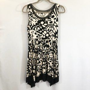 Cable and Gauge Sleeveless Dress